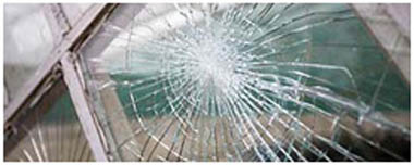 Swinton South Yorkshire Smashed Glass